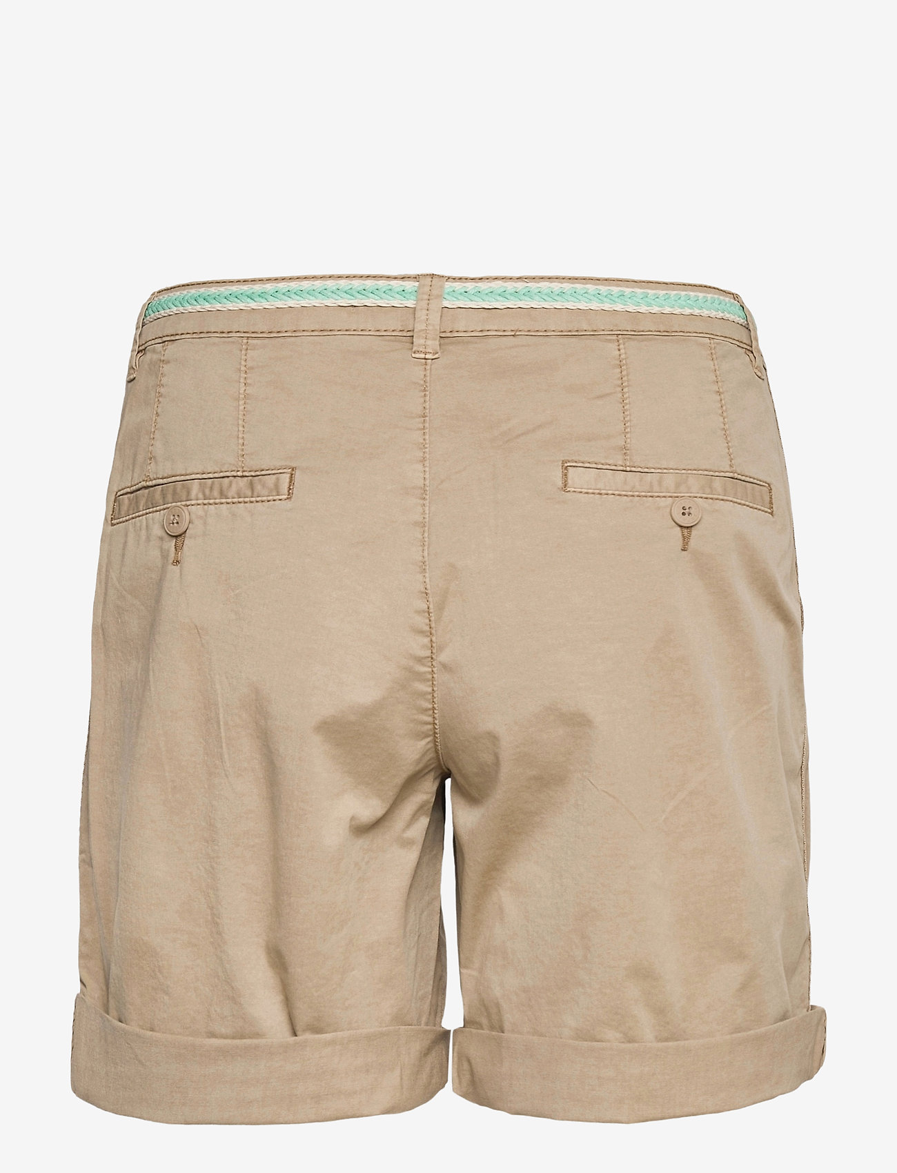 Esprit Casual - Shorts woven - chino shorts - beige - 1
