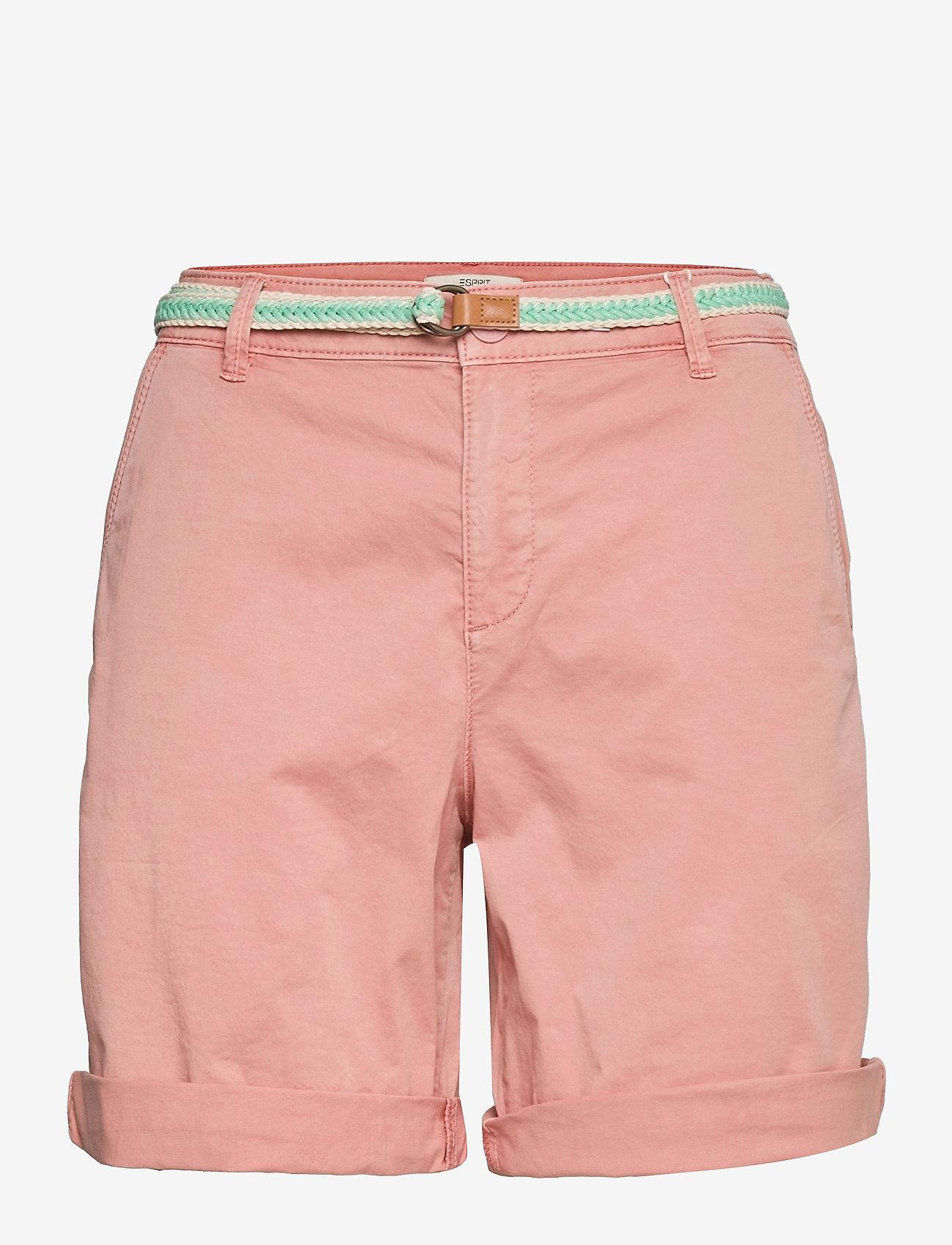 Esprit Casual - Shorts woven - chino shorts - nude - 0