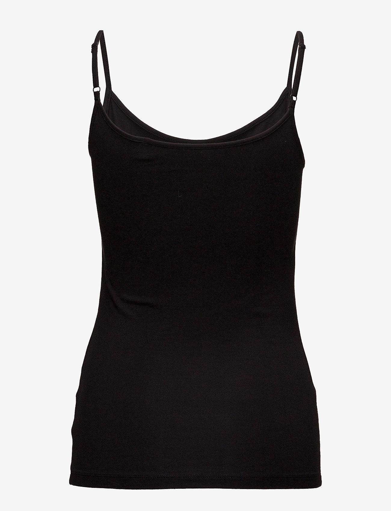 Esprit Casual - T-Shirts - sleeveless tops - black - 1