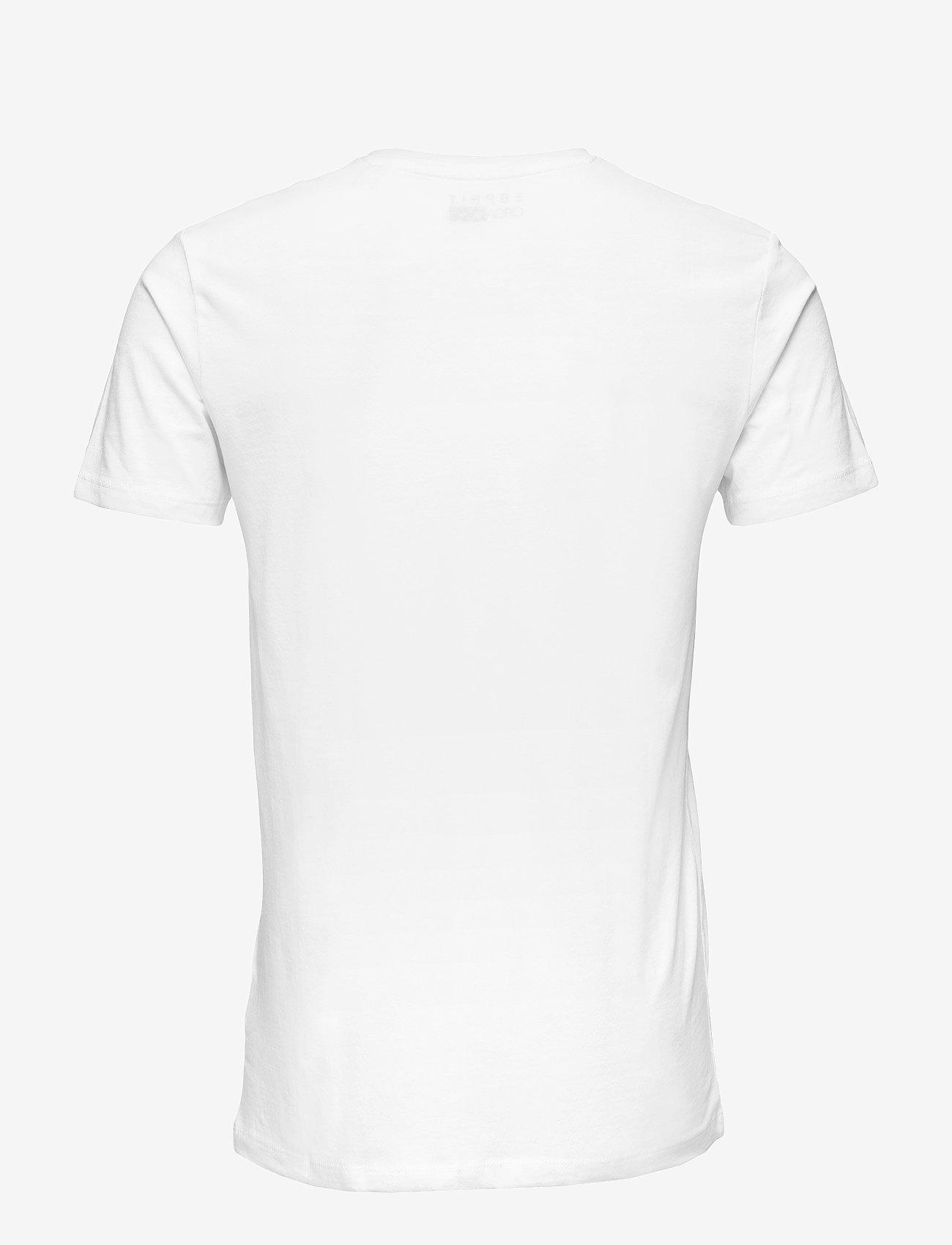 Esprit Casual - T-Shirts - korte mouwen - white - 1