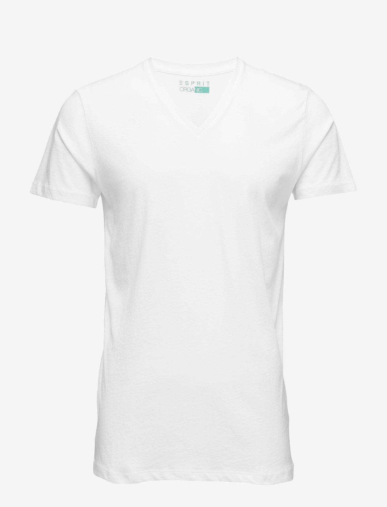 Esprit Casual - T-Shirts - korte mouwen - white - 0