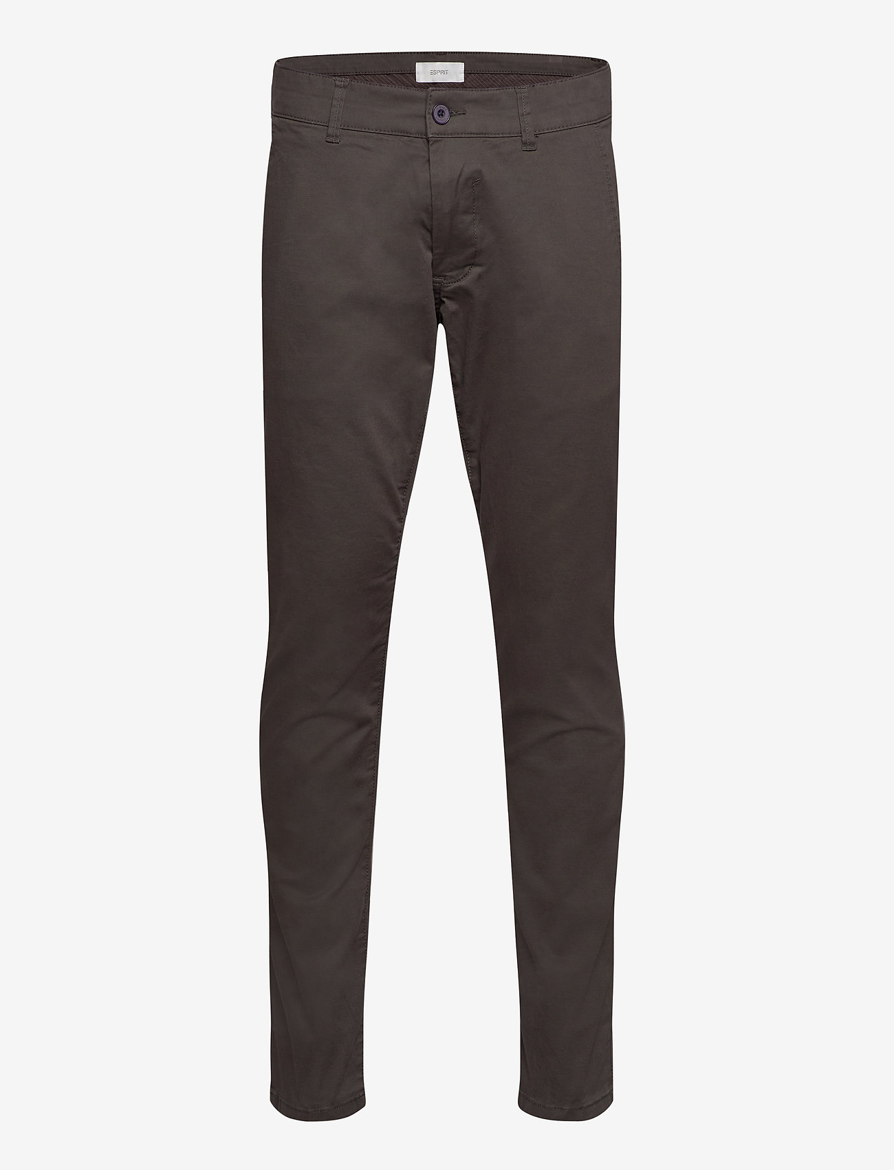 Esprit Casual - Pants woven - chinos - dark grey - 0