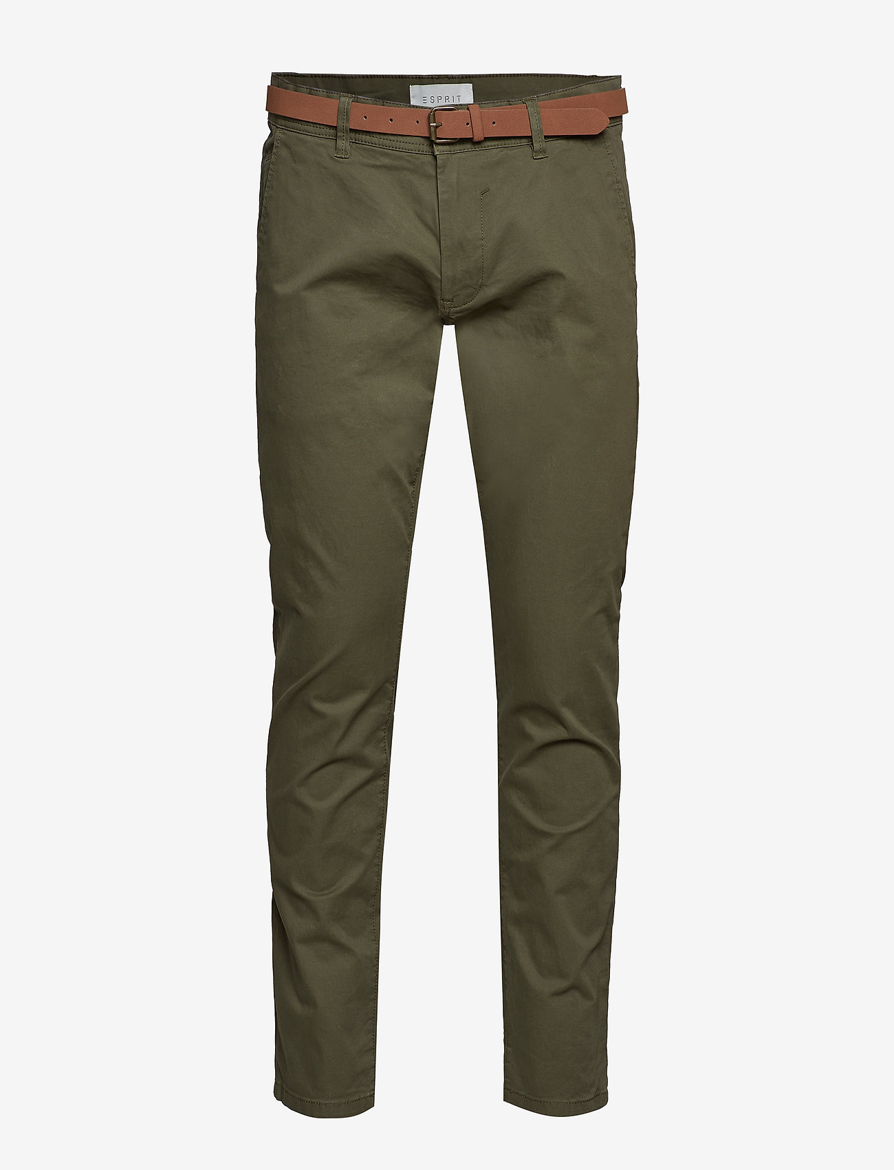 Esprit Casual - Pants woven - chino's - olive - 0