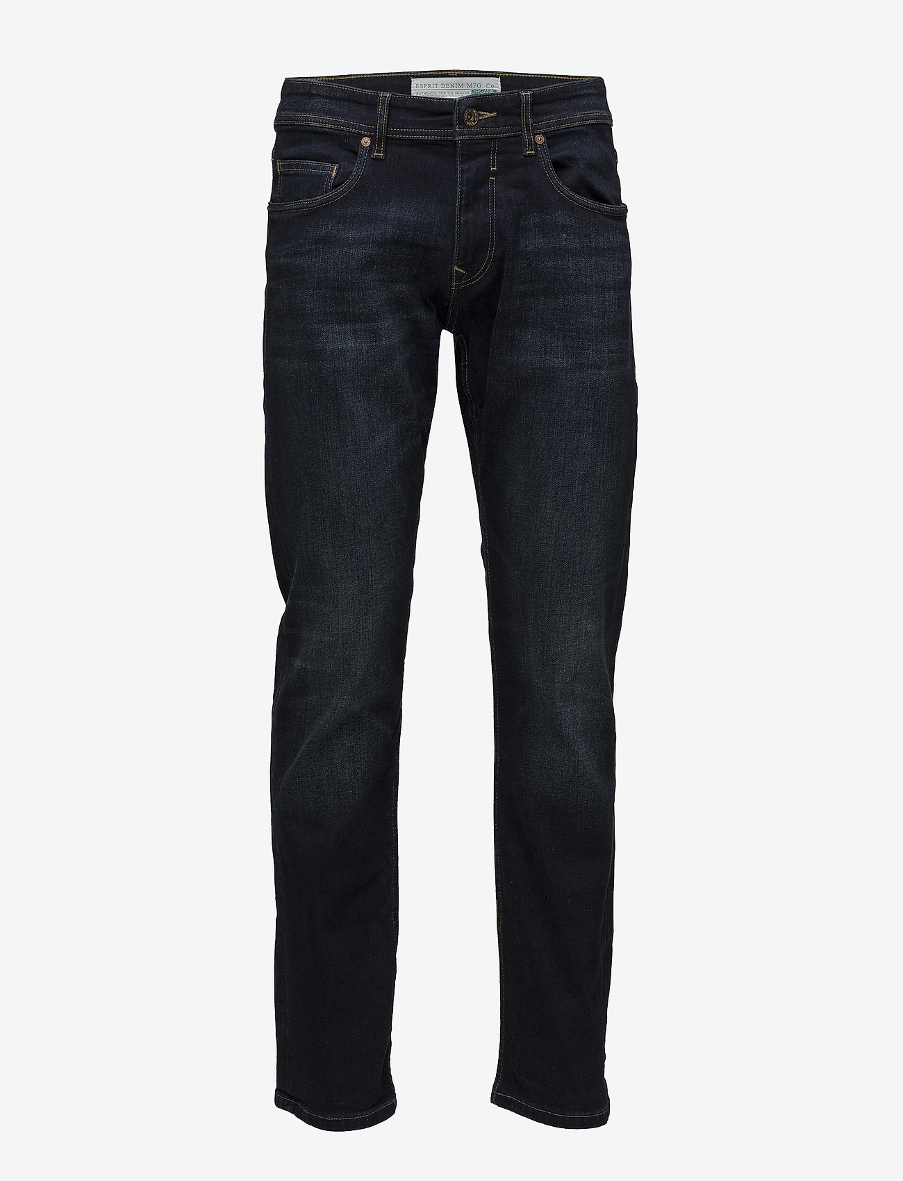 Esprit Casual - Pants denim - regular jeans - blue dark wash - 0