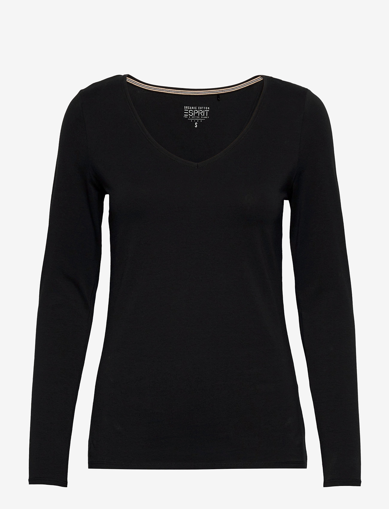 Esprit Casual - T-Shirts - t-shirt & tops - black - 0