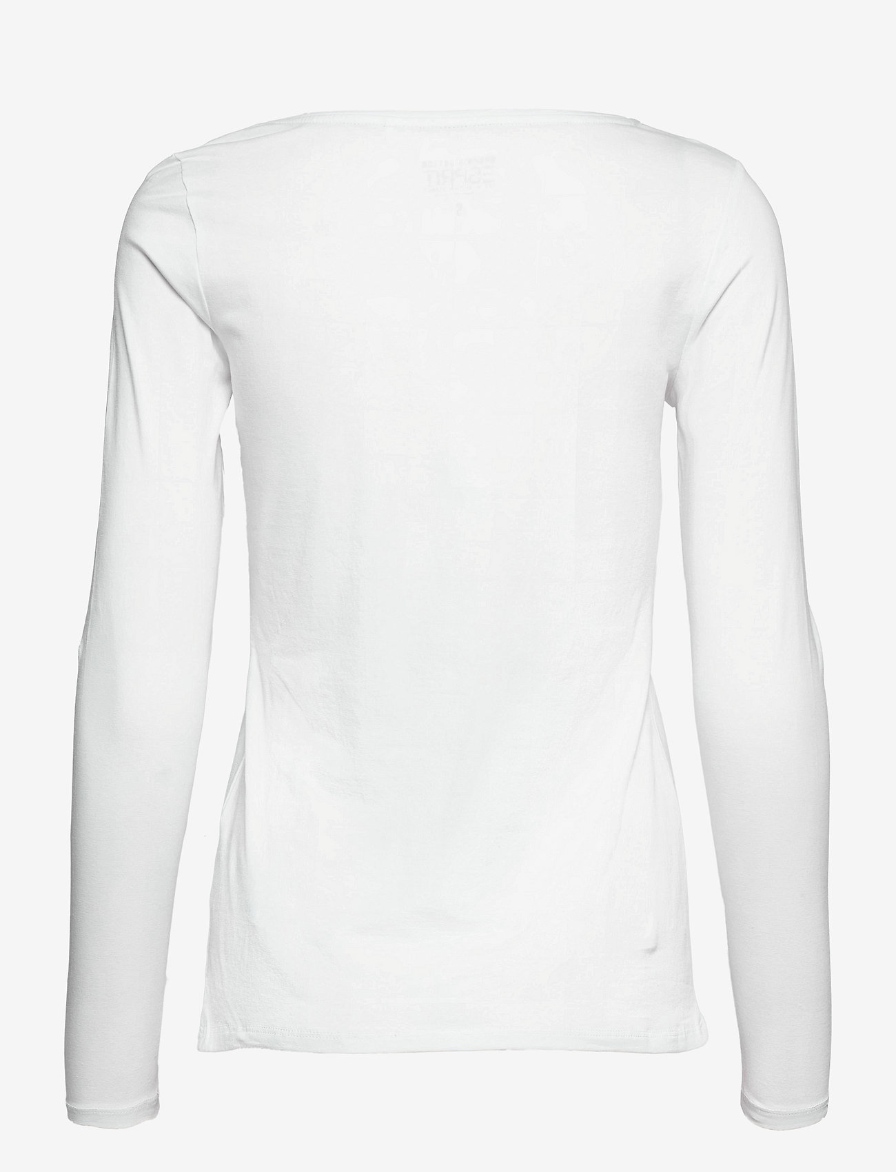 Esprit Casual - T-Shirts - long-sleeved tops - white - 1