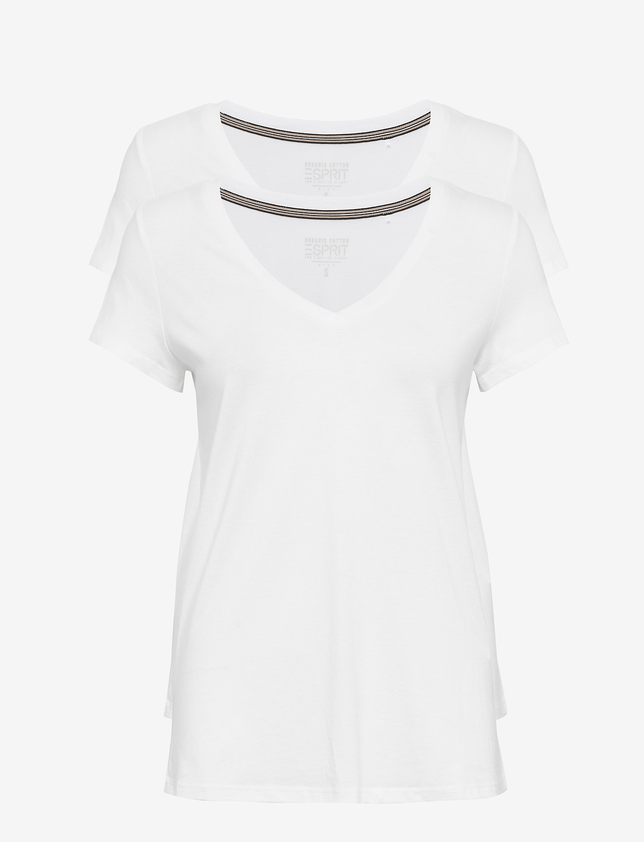 Esprit Casual - Mixed Sets - t-shirts - white - 0