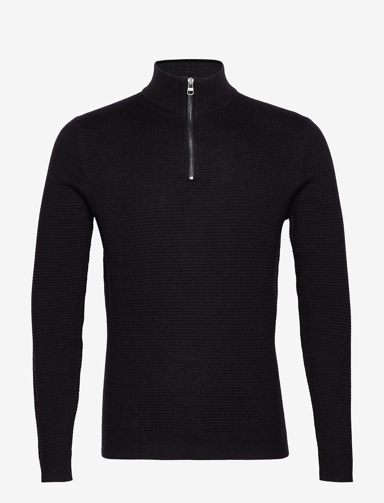 Esprit Casual - Sweaters - pulls demi-zip - black - 0