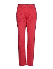 Pants woven - DARK RED