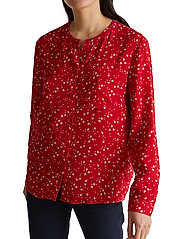 Esprit Casual - Blouses woven - langærmede toppe - red - 0