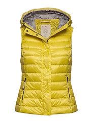 Vests outdoor woven - YELLOW
