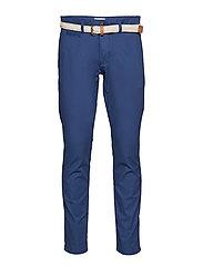 Pants woven - DARK BLUE
