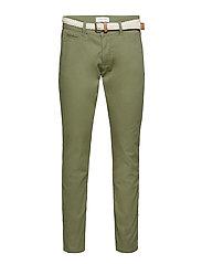 Pants woven - OLIVE