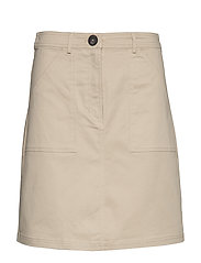Skirts woven - BEIGE