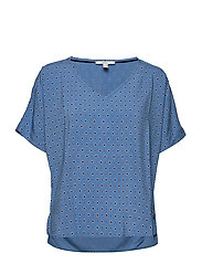 Blouses woven - BRIGHT BLUE 4