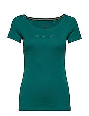 T-Shirts - TEAL GREEN 4