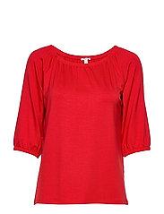 T-Shirts - DARK RED