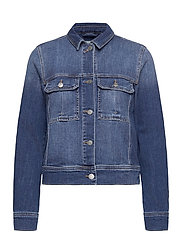 Jackets indoor denim - BLUE MEDIUM WASH