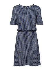 Dresses knitted - BRIGHT BLUE