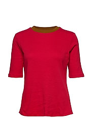 T-Shirts - DARK RED