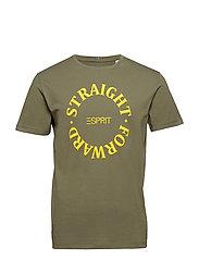 T-Shirts - KHAKI GREEN