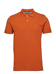 Polo shirts - BURNT ORANGE