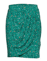 Skirts knitted - TEAL GREEN