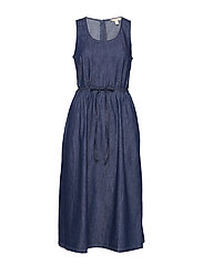 Dresses denim - BLUE RINSE