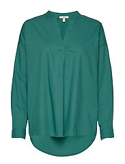 Blouses woven - TEAL GREEN