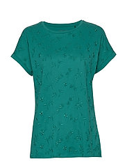 T-Shirts - TEAL GREEN