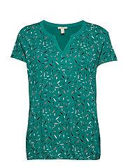 T-Shirts - TEAL GREEN