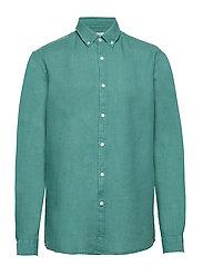 Shirts woven - TEAL GREEN