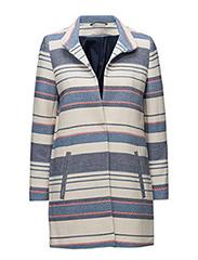 Coats woven - BLUE 2