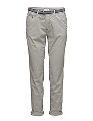Pants woven - LIGHT GREY