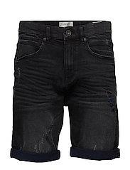 Shorts denim - BLACK DARK WASH