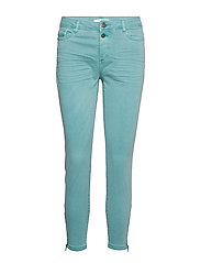 Pants woven - LIGHT AQUA GREEN