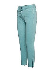 Esprit Casual - Pants woven - skinny jeans - light aqua green - 2
