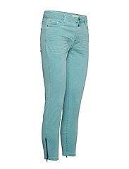 Esprit Casual - Pants woven - skinny jeans - light aqua green - 3