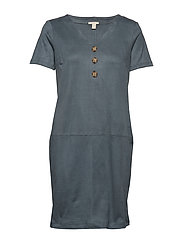 Dresses knitted - DUSTY GREEN