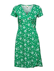 Dresses knitted - GREEN