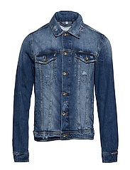 Jackets indoor denim - BLUE MEDIUM WASH