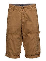 Shorts woven - CAMEL