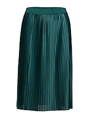 Skirts knitted - DARK TEAL GREEN