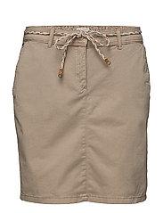 Skirts woven - BEIGE