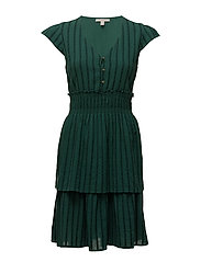Dresses light woven - TEAL GREEN