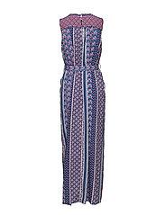 Esprit Casual - Dresses light woven - maxikjoler - navy - 1
