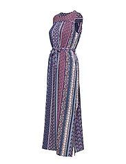 Esprit Casual - Dresses light woven - maxikjoler - navy - 2