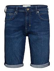 Shorts denim - BLUE DARK WASH