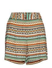 Shorts woven - CINNAMON