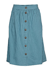 Skirts light woven - DARK TURQUOISE